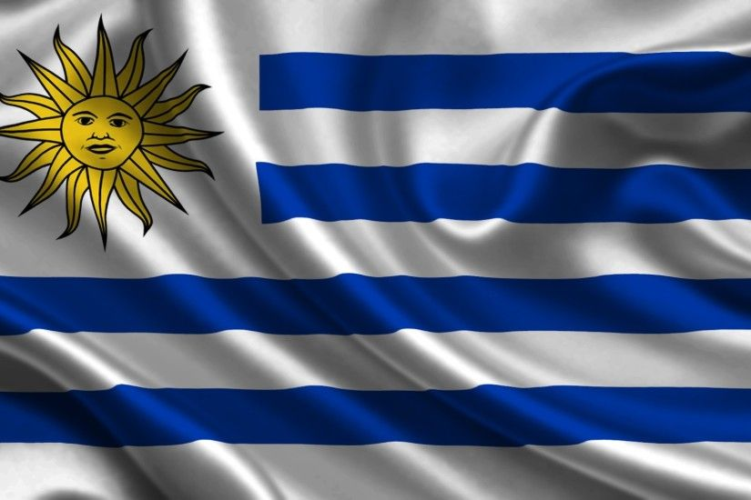 Flag of Uruguay wallpaper