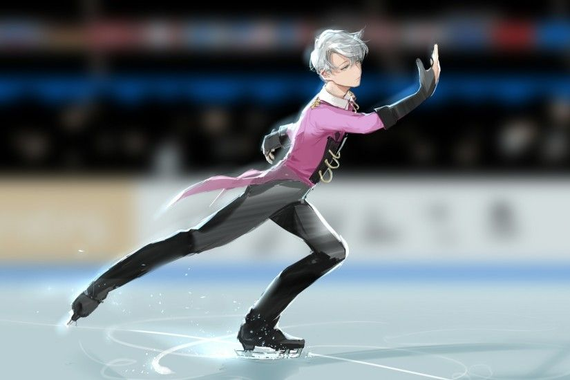... skateboarding wallpaper; download 2339x1654 viktor nikiforov yuri on ice  skating ...