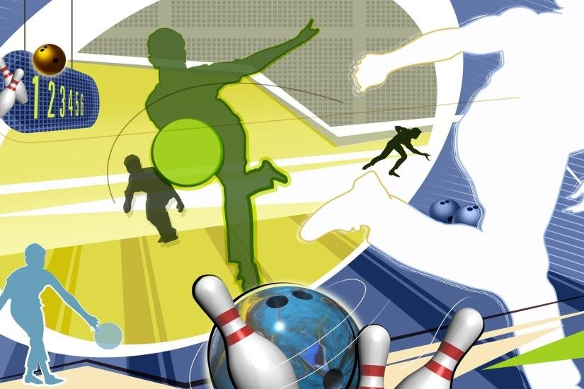 bowling bowling ball bowling silhouette abstract wallpaper vector