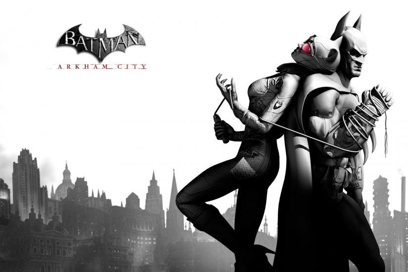 Batman & Catwoman wallpaper