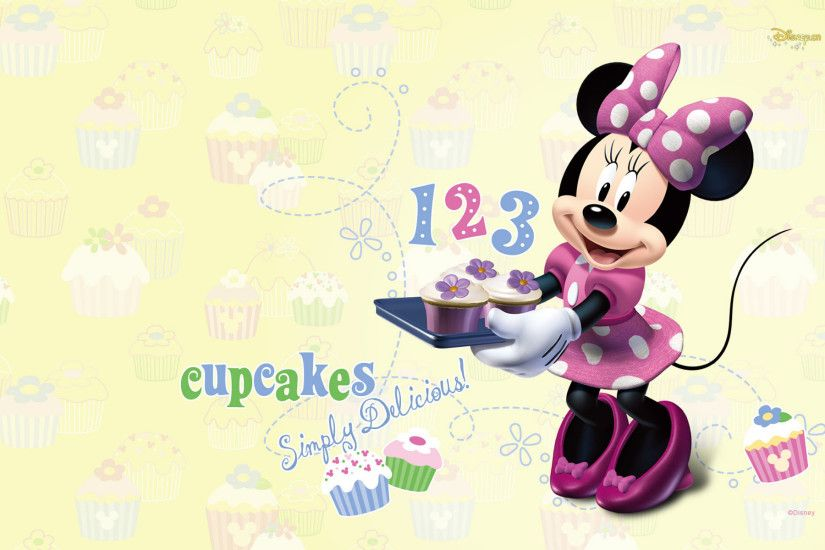 Free Minnie desktop wallpaper | Mickey Mouse wallpapers