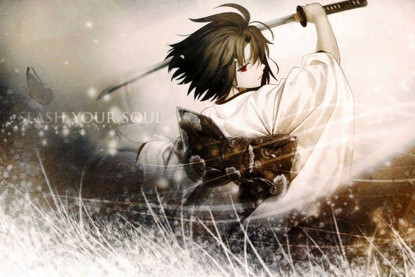 Wallpapers For > Anime Samurai Wallpaper
