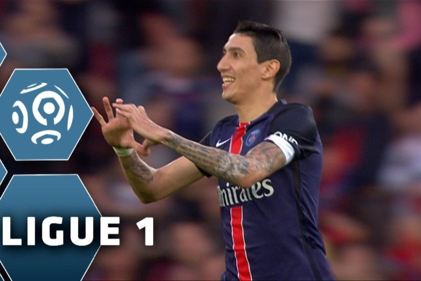 But Angel DI MARIA (6') / Paris Saint-Germain - Toulouse FC (5-0) - (PARIS  - TFC) / 2015-16