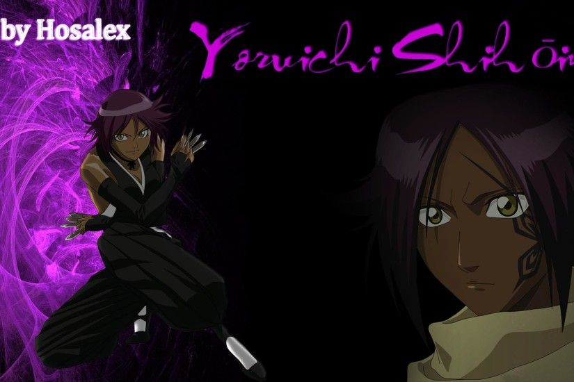 Yoruichi shihouin - wallpaper by Hosalex Yoruichi shihouin - wallpaper by  Hosalex
