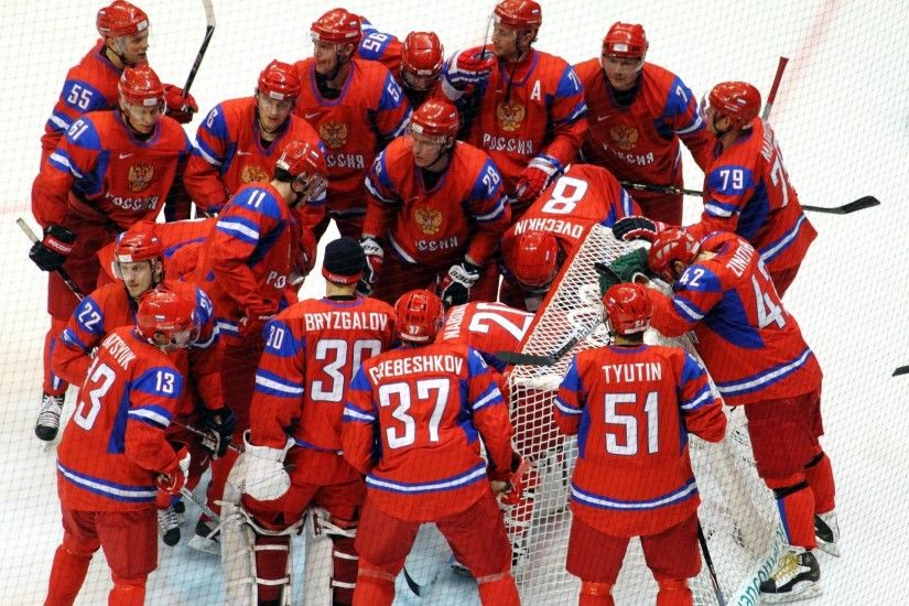victory team russia nhl bryzgalov world hockey sem cheers championship nhl  russia ovechkin happiness latvia semin