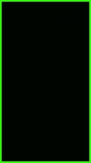 Neon Green Border Wallpaper