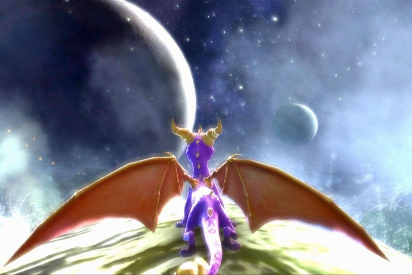 DarkSpyro - The Legend Of Spyro: Dawn Of The Dragon - Gallery .