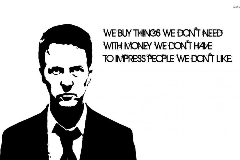 Images For > Fight Club Movie Wallpaper
