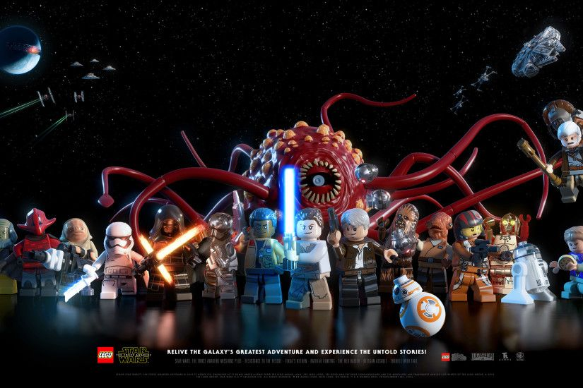 LEGO Star Wars: The Force Awakens Video Game. Landscape · Vertical