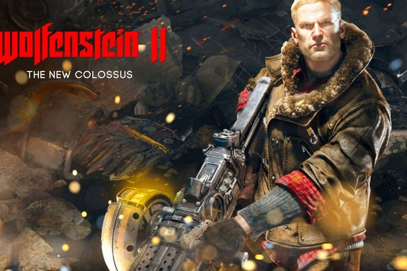 Wallpapers Wolfenstein II: The New Colossus spark Games 1920x1080