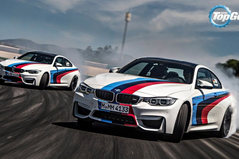 Top Gear - BMW M4 Coupe Drifting 1920x1080 wallpaper
