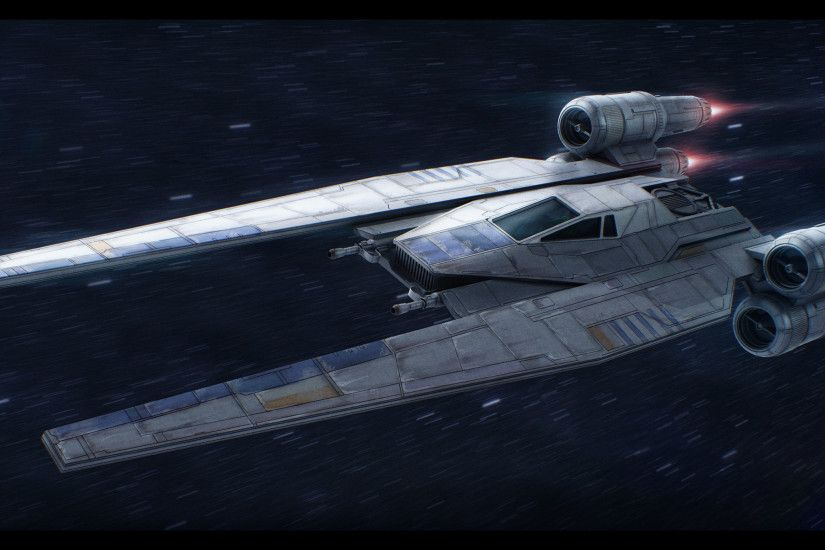 ... Star Wars Rogue One U-Wing by AdamKop