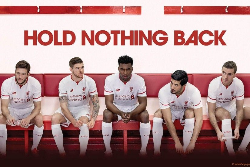 New Balance Liverpool FC 2015-2016 Away Kit wallpapers .