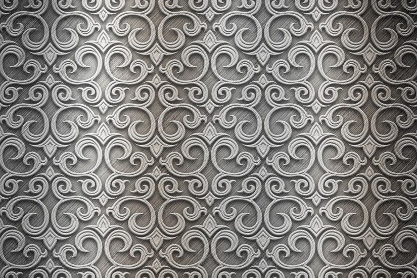 Wallpaper Patterns, Wavy, Background, Texture, Metal, Silver HD, Picture,  Image