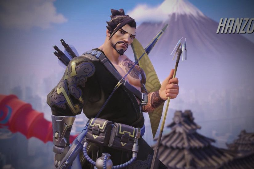 Users who found this page were searching for: overwatch hanzo wallpaper