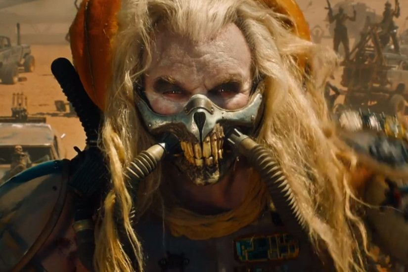 Movie - Mad Max: Fury Road Immortan Joe Hugh Keays-Byrne Wallpaper