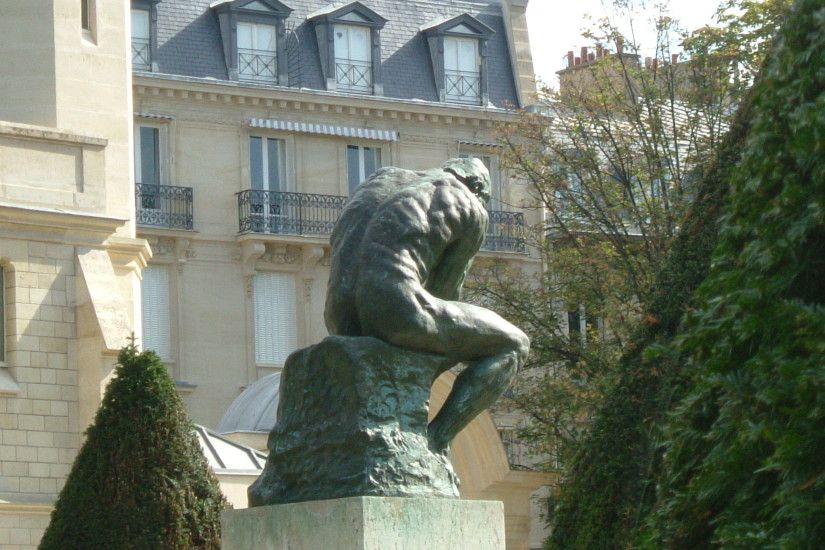 The Thinker, 1902 - Auguste Rodin