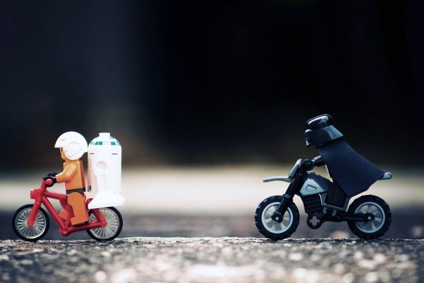 Preview wallpaper star wars, lego, hunt, toys 1920x1080