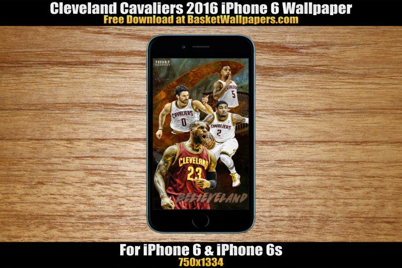Cleveland Cavaliers 2016 iPhone 6 Wallpaper