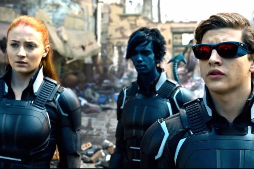 Cyclops and X-Men Apocalypse Movie 4K Wallpaper