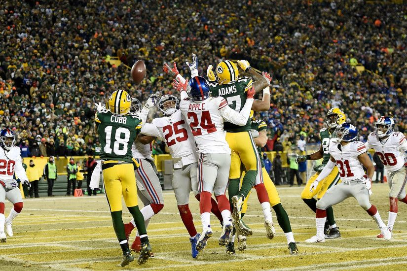 Highlights of the Green Bay Packers' win over the New York Giants in the NFC