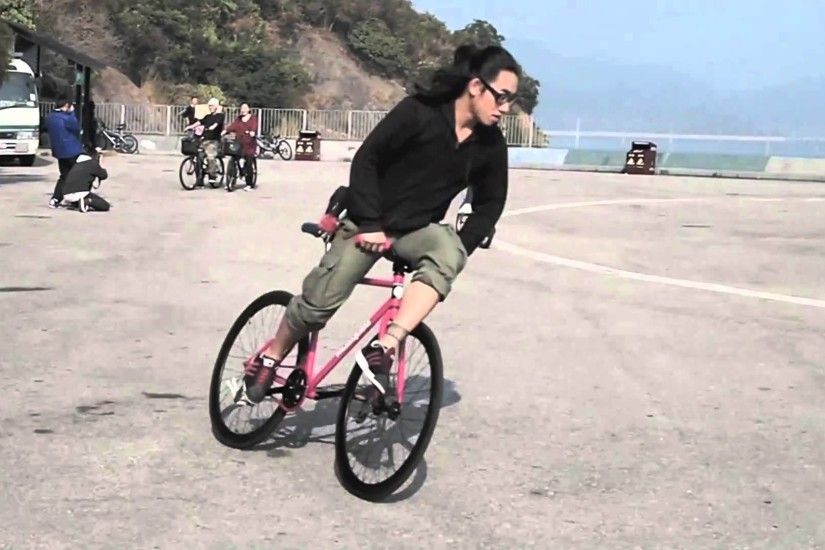 How To - Hop 180 on a Fixed Gear by 63fixed - 2016-03-
