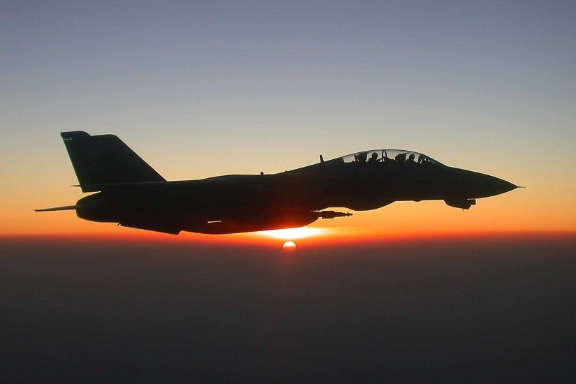 F 14 Tomcat Sunset | Wallpaper Bod