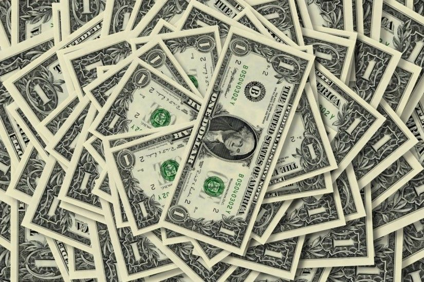 Preview wallpaper money, dollar, dignity, amount, denominations, one,  background 1920x1080
