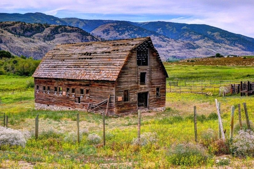 Farms - Okanagan Valley British Colombia Canada Landscape Barn Image  Gallery for HD 16:9