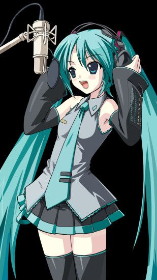 ... Hatsune Miku - VOCALOID - HD Wallpaper #487628 - Zerochan Anime .