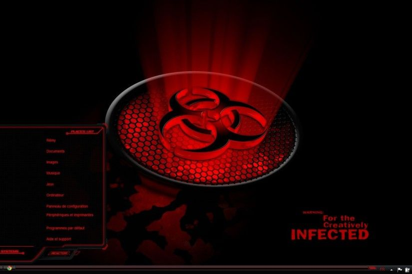PC Alienware Red Wallpapers, Afaf Meggison