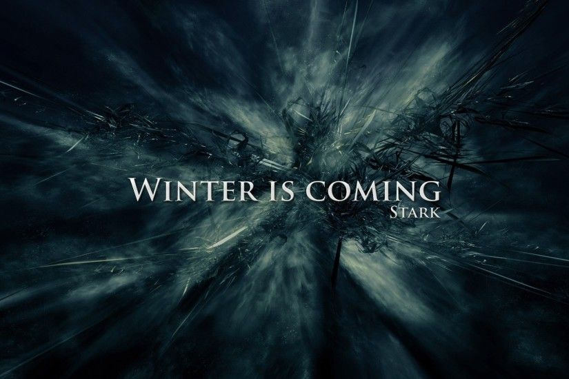 Game Of Thrones Winter Is Coming 787527 ...