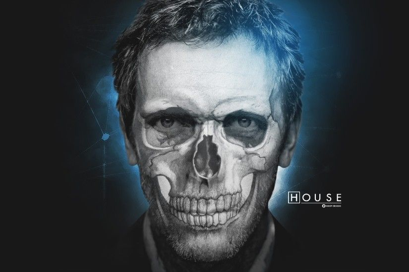 skull, Face, Gregory House Wallpapers HD / Desktop and Mobile Backgrounds
