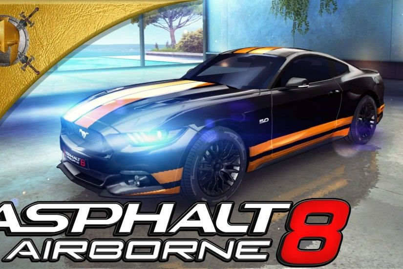 Asphalt 8: Airborne (PC) - 2015 Ford Mustang - San Diego Harbor- Gameplay  (1080p 60fps)