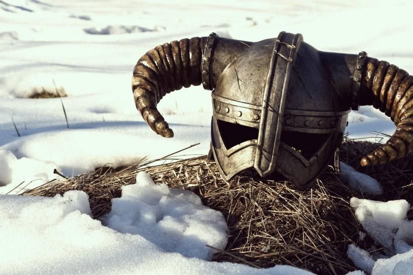 Description: The Wallpaper above is Skyrim game helmet Wallpaper in  Resolution 2560x1440. Choose your Resolution and Download Skyrim game  helmet Wallpaper