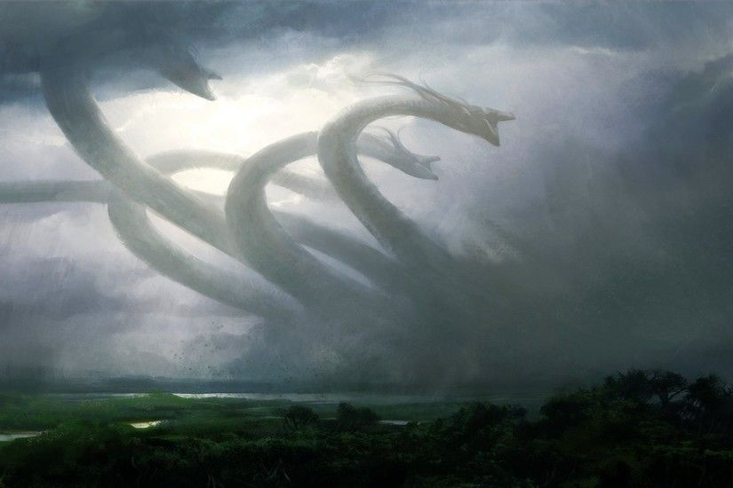 artwork, Fantasy Art, Magic: The Gathering, Hydra Wallpapers HD / Desktop  and Mobile Backgrounds