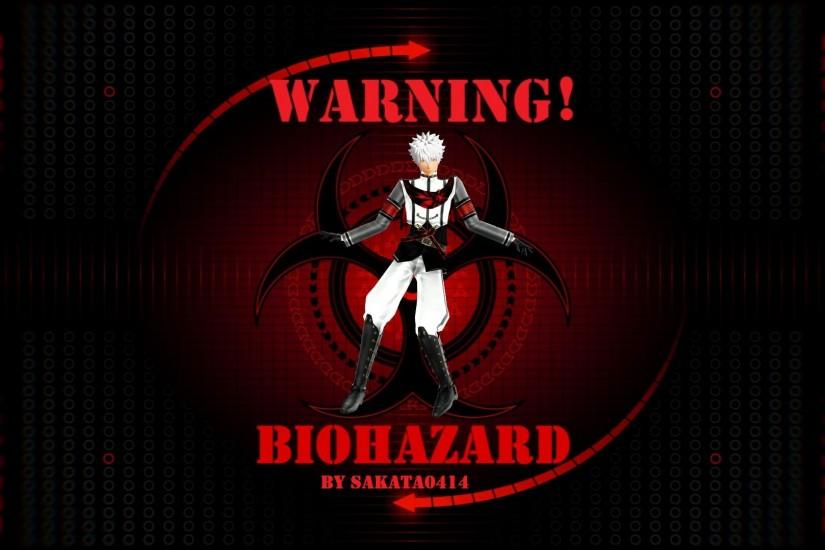 ... Biohazard Gintoki Wallpaper + Video link by Sakata0414