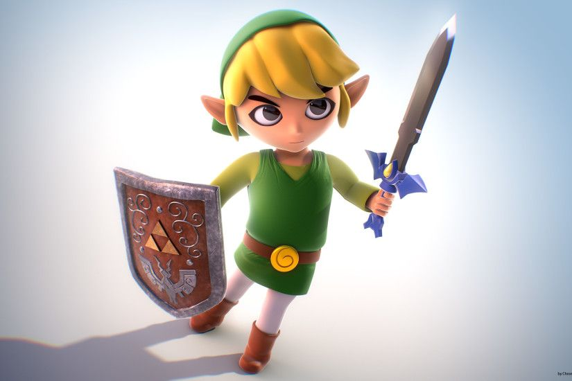 ... Toon Link Fanart - Wallpaper HD by Chromalious