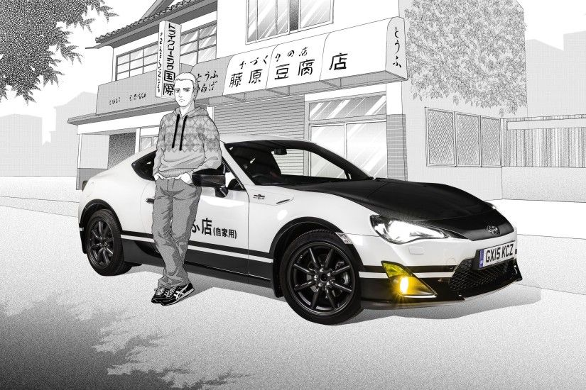 The Toyota Gt86 Initial D Concept Is An Awesome Car Based Audi Detail  Wallpaper