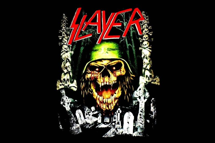SLAYER death metal heavy thrash dark skull wallpaper | 1920x1200 | 426976 |  WallpaperUP