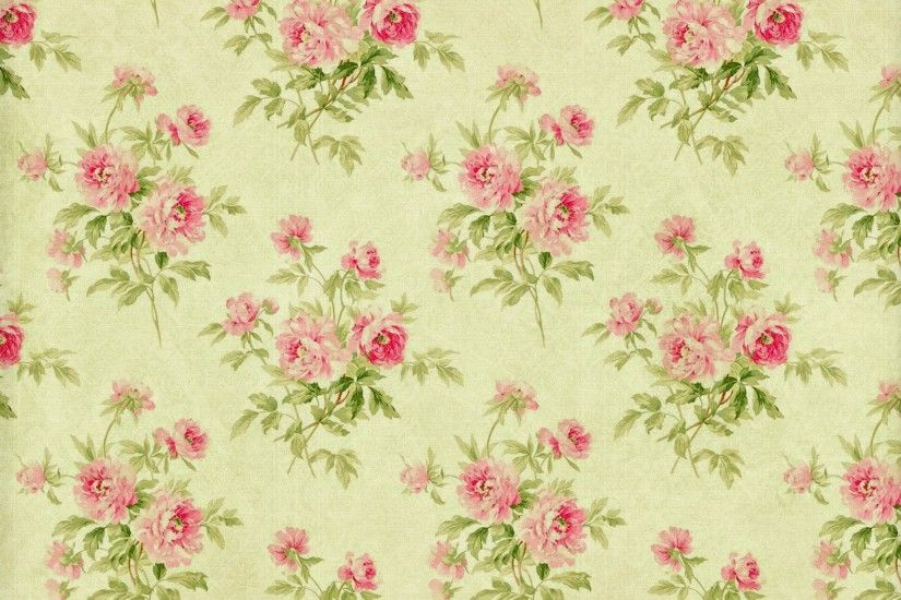 floral pattern paper texture wallpaper vintage background flower pattern