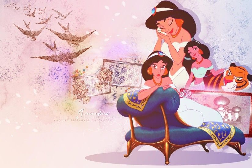... Jasmine Wallpapers - Wallpaper Cave Disney Princess Wallpaper Images -  WallpaperSafari ...
