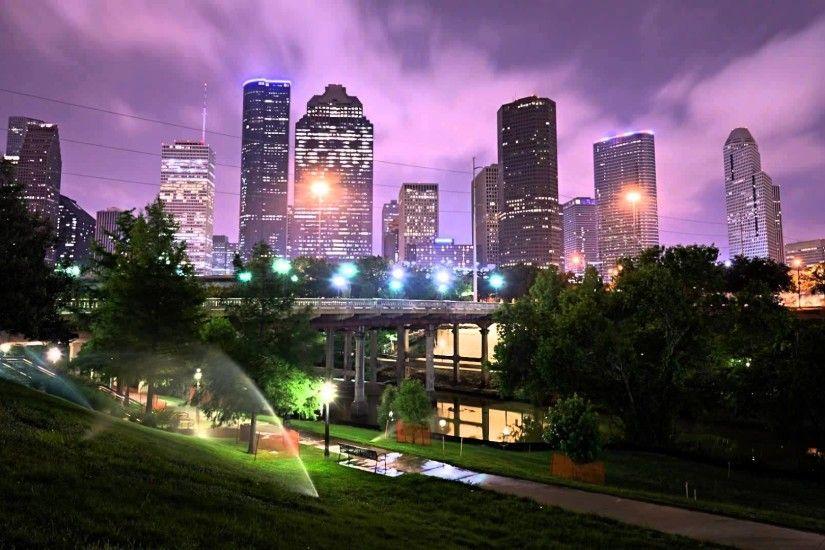 Houston Skyline Wallpaper 1