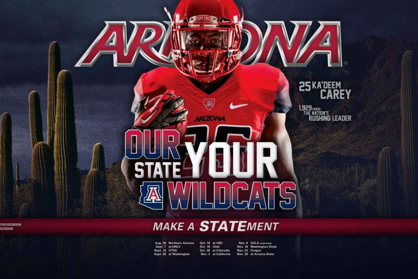 2013 Arizona Football Wallpapers - The University of Arizona