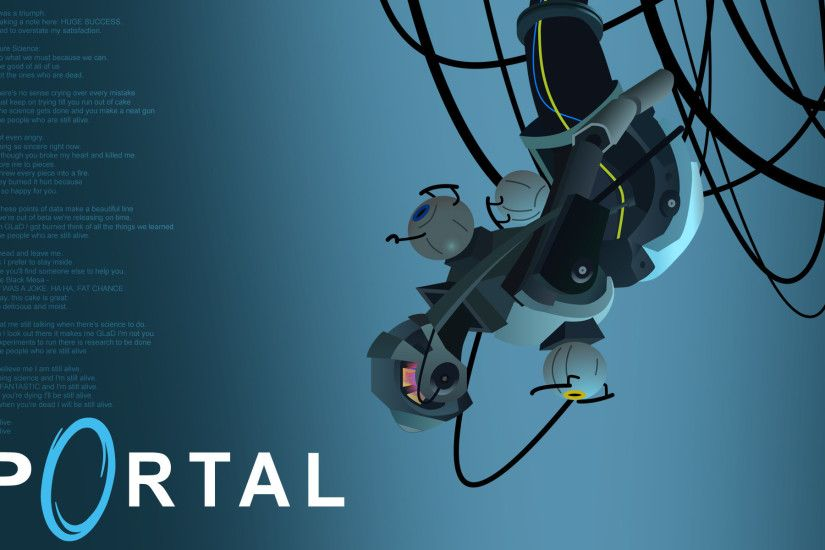 GLaDOS Wallpaper by Zeptozephyr ...