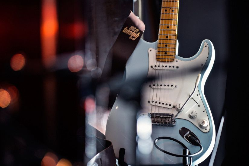 Preview wallpaper guitars, stylish, electro 1920x1080