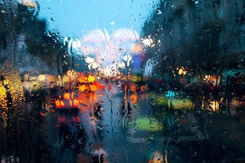 Wallpapers For > Rain Window Background Tumblr