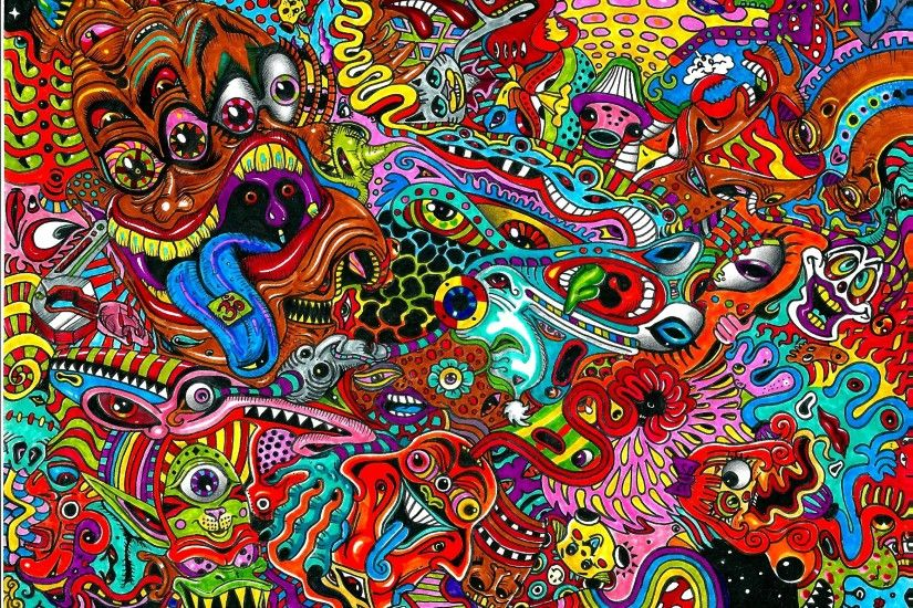 Psychedelic HD wallpapers #2
