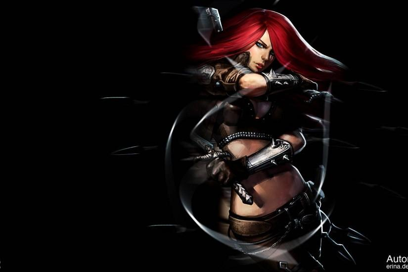 Katarina HD - League of legends Wallpaper