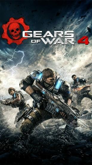 gears of war 4 wallpaper 1080x1920 for 1080p